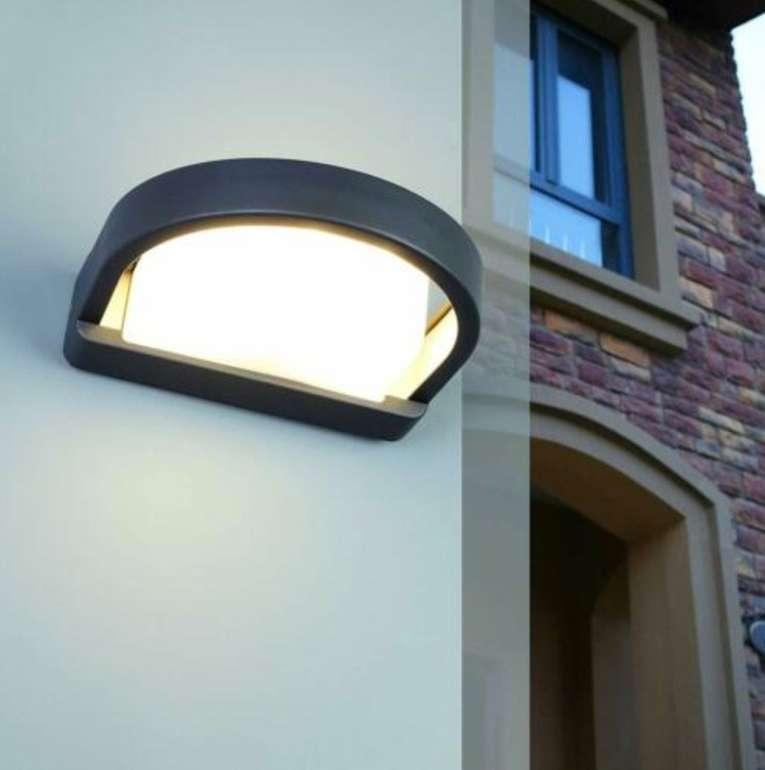 Lutec Origo Außen-Wandlampe (IP54 Schutz, E27, Alu Guss) für 9,99€ inkl. Versand