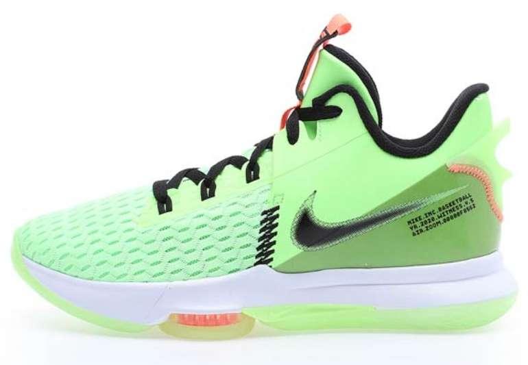 Kickz: Nike Weekend Deals mit 25% Rabatt - z.B. Nike Lebron Witness V Lime Glow Sneaker für 74,96€ (statt 100€)