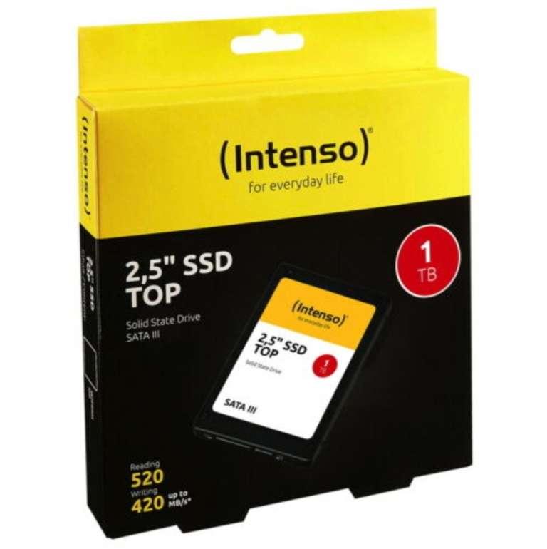 Intenso Top SSD mit 1TB Speicher (3D Nand, 2,5 Zoll, SATA III) für 79,99€