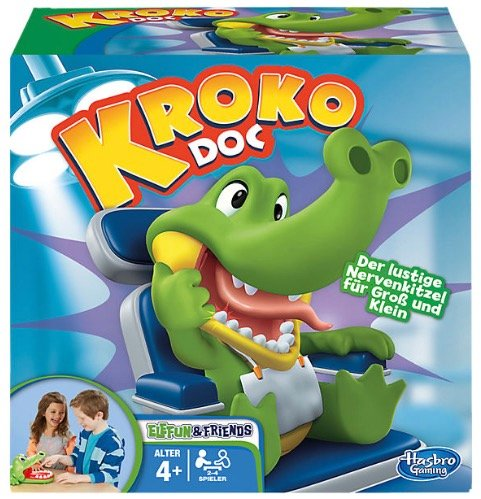 myToys: 15% Rabatt auf Hasbro-Artikel ab 29€ - Versand 2,95€ - Kroko Doc 13,99€