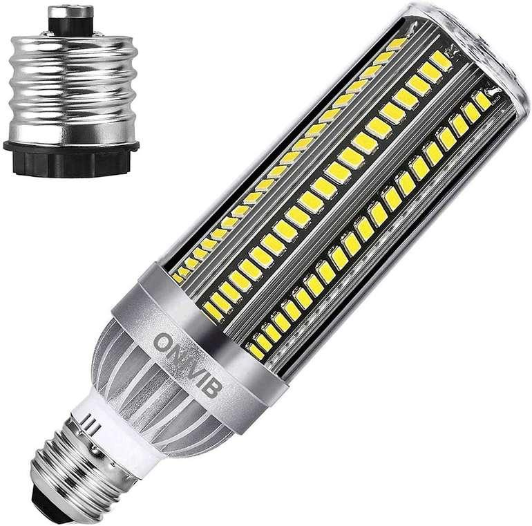 ONIVIB Mais-LED mit E27 Fassung z.B. mit 54 Watt, 6500k, 6400 Lumen für 25,99€ inkl. Versand (statt 34€)