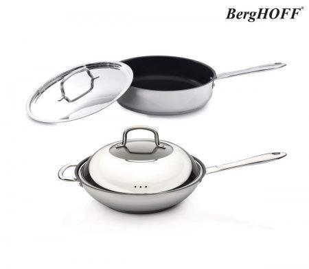 BergHoff Bratpfanne oder Wok (28 cm) für je 45,90€ inkl. Versand