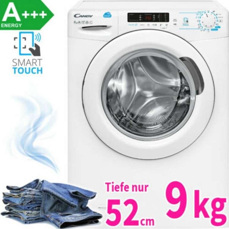 Candy CS 1492D3 Waschmaschine (A+++, 9kg, 1.400 U/min & App-Anbindung) für 254,90€ (statt 330€)