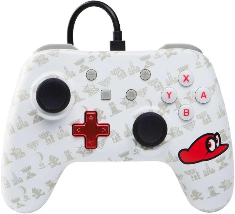 PowerA Nintendo Switch Wired Controller im Super Mario Odyssey: Cappy Edition Style für 19,99€ inkl. Versand (statt 25€)