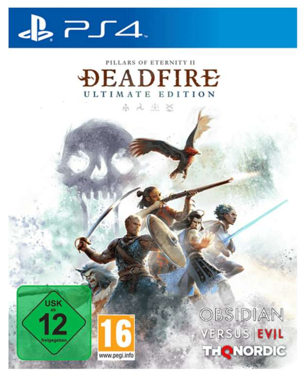 Pillars of Eternity II: Deadfire (Ultimate Edition) für die PS4 zu 30,98€ inkl. Versand (statt 37€)
