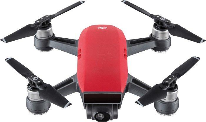 Top! DJI - Spark Drohne in Rot für 283,17€ inkl. VSK (statt 380€)