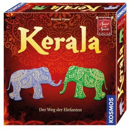 Kosmos Familienspiel Kerala - der Weg der Elefanten für 10€ inkl. VSK (VG: 18€)