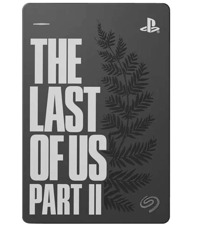 Seagate Game Drive for PS4 - Externe Festplatte mit 2TB Speicher (The Last of Us II Special Edition) für 69,99€