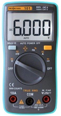 Richmeters RM101 LCD Multimeter für 9,45€ (Modell RM102 für 10,23€)