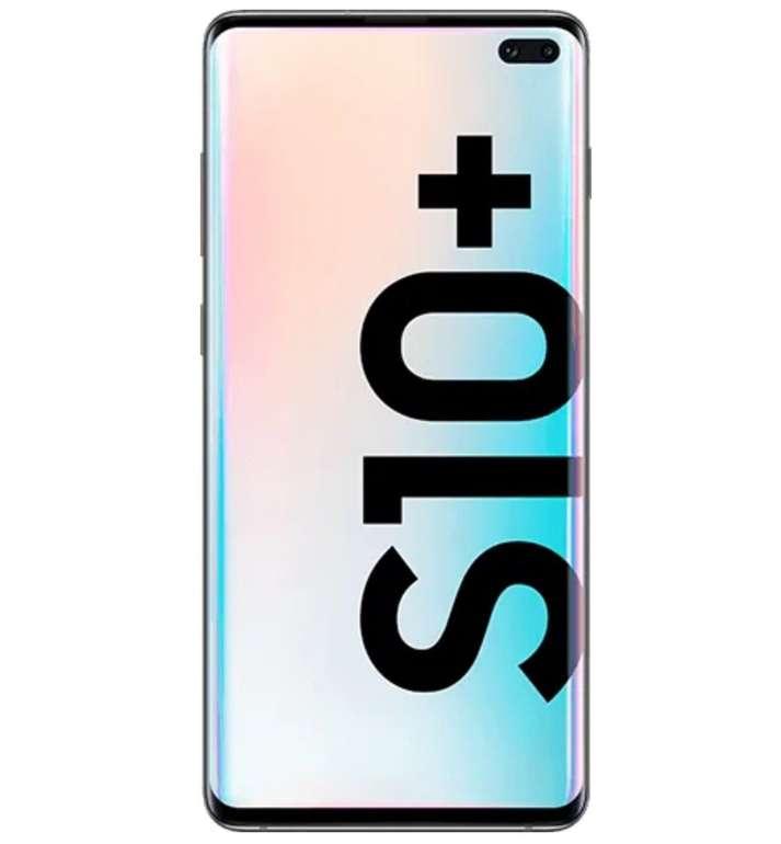 Samsung Galaxy S10+ mit 128GB Speicher (5€) + Vodafone Smart L Plus mit 18GB LTE für 36,99€ mtl.