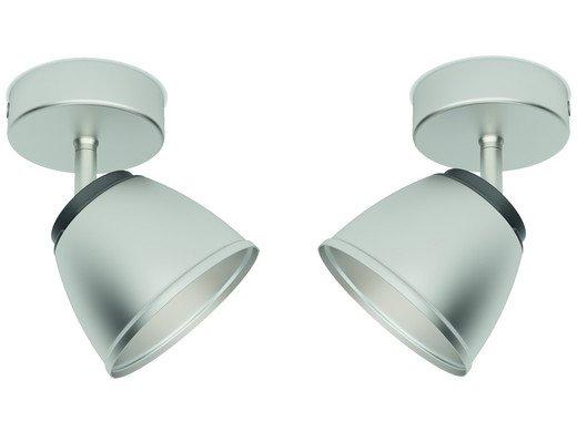4x Philips County LED-Deckenstrahler (4 Watt, 330 lm, 2.700 K) für 25,90€ inkl. Versand (statt 46€)