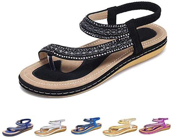 Camfosy Damen Sandalen in vielen Farben für je 13,74€ inkl. Prime Versand (statt 25€)