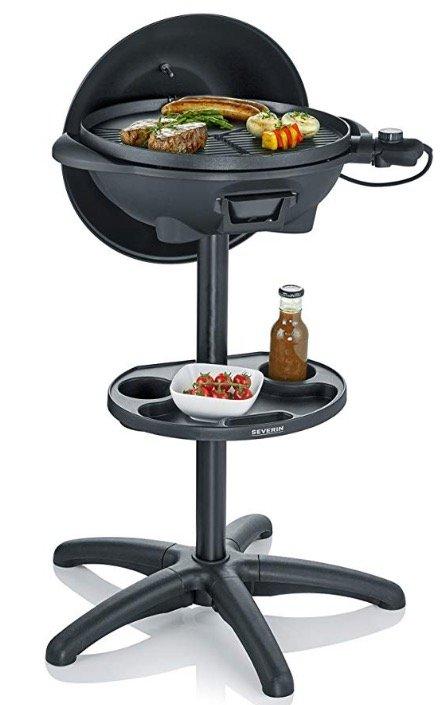 Severin PG 8541 Barbecue-Elektrogrill mit Standgestell für 79,90€
