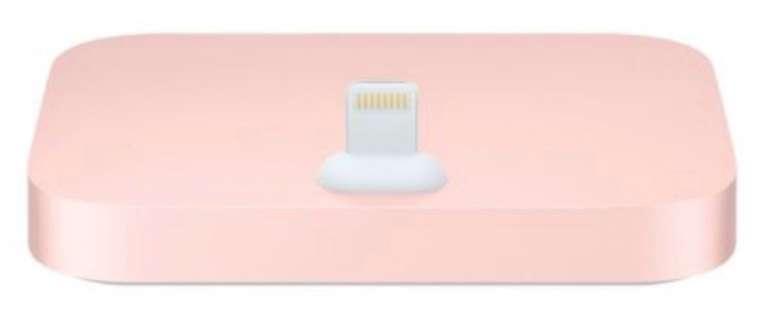 Apple iPhone Lightning Dock in rosegold für 22,95€ inkl. Versand (Vergleich: 39€)