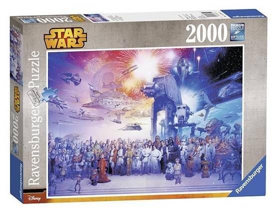 Ravensburger 16701 Star Wars Universum Puzzle mit 2000 Teilen zu 13€ (statt 22€)
