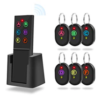 SmallRT Schlüsselfinder mit 6 Empfängern für 16,50€ inkl. Prime (statt 33€)