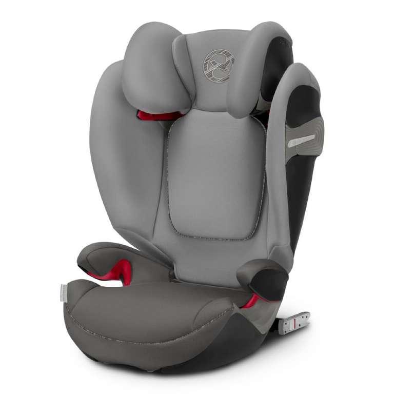 cybex Gold Kindersitz Solution S-Fix Manhattan Grey, 3-12 J. für 134,99€ inkl. Versand (statt 190€)