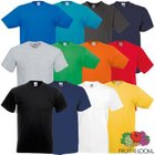 5er Pack Fruit of the Loom Valueweight V-Neck T-Shirts für 9,99€ inkl. VSK