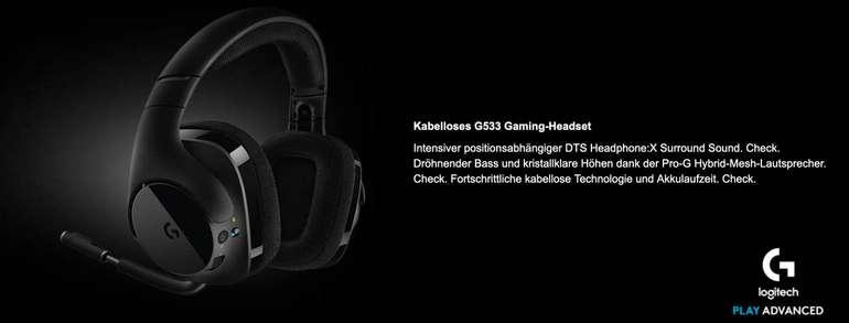 Logitech G533 - kabelloses Gaming Headset