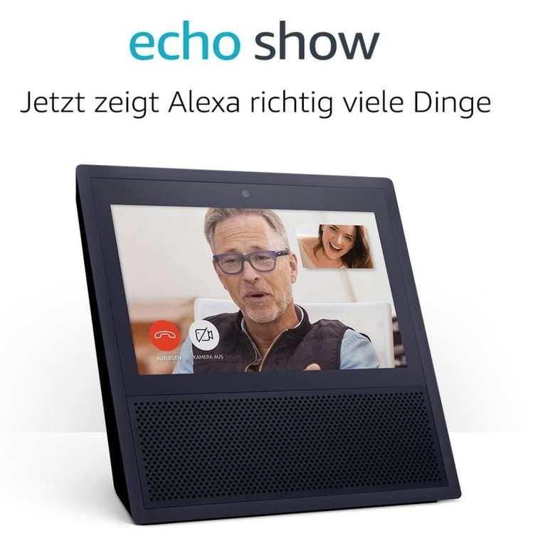 Amazon Echo Show (1. Gen) für 99,99€ inkl. Versand (statt 164€)