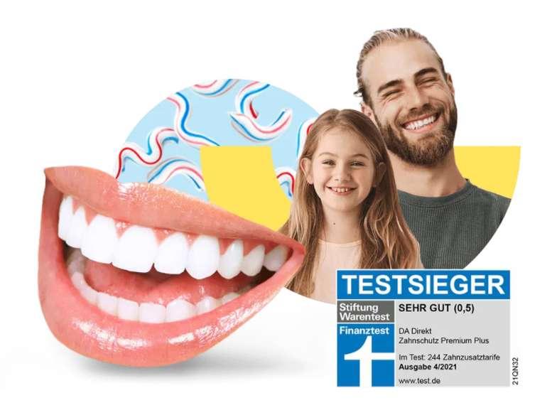 DA direkt Zahnzusatzversicherung ab 6,90€ mtl. (30€ Amazon Gutschein)