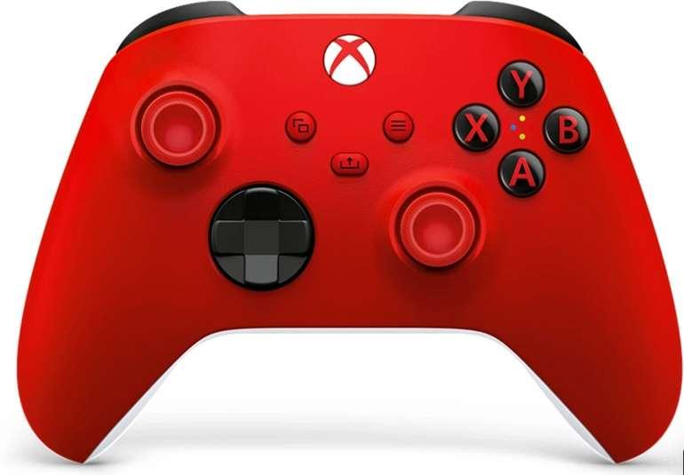 Microsoft Xbox Wireless Controller (2020) in Pulse Red für 46,40€ inkl. Versand (statt 54€)