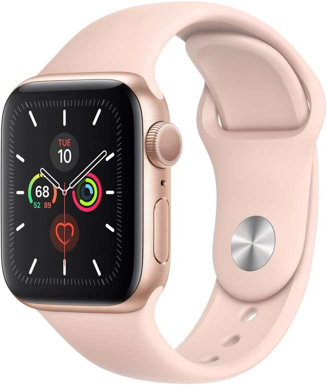 Apple Watch Series 5 40mm in Sandrosa für 320,46€ (statt 404€) - Newsletter Gutschein!