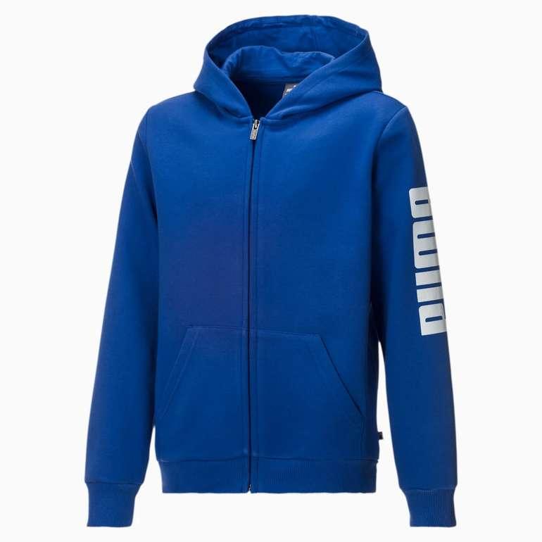 Puma Jungen Fleece Sweatjacke mit Kapuze (in 3 Farben) für 17,56€ inkl. Versand (statt 22€)