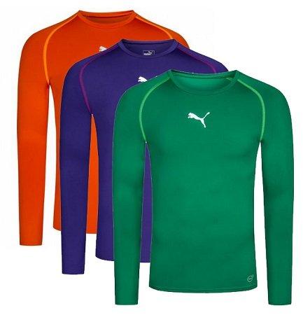 Puma TB Herren Langarm Training-Shirts (Longsleeves) für je 11,72€ inkl. Versand