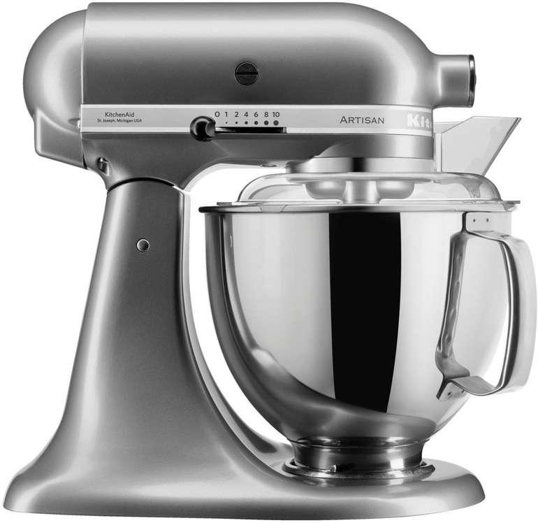 Kitchenaid 5KSM175PSECU Artisan Küchenmaschine (300 Watt) für 399€ inkl. VSK (statt 449€)
