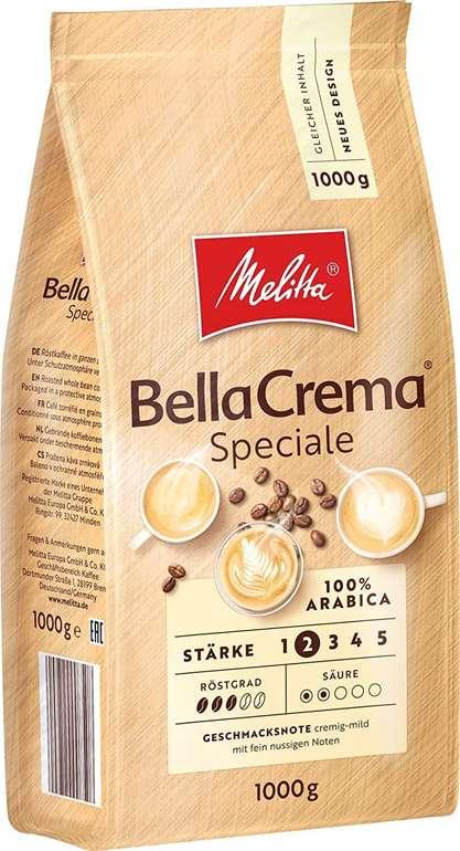 Melitta Ganze Kaffeebohnen, 100% Arabica, Stärke 2 ab 7,34€ (statt 12€) - Prime!