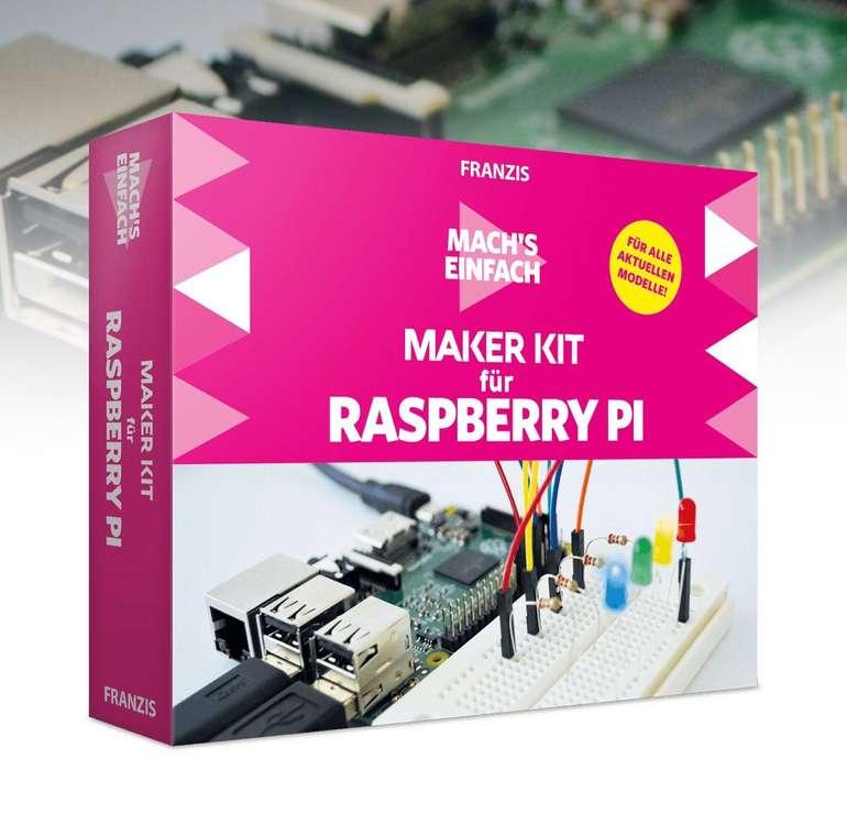 Franzis Maker Kit für Raspberry Pi mit 41 Bauteilen nur 27,96€ inkl. Versand (statt 42€)