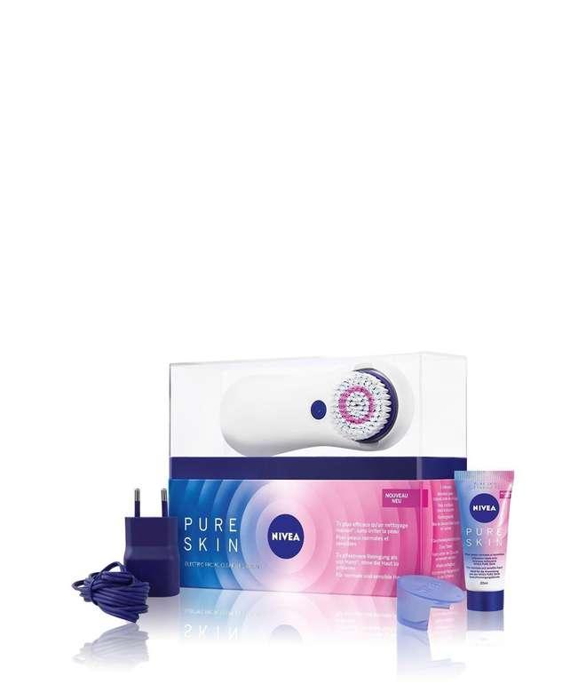 Nivea Pure Skin Gesichtsbürste für 23,99€ inkl. Versand (statt 44€) - Verpackungsschäden