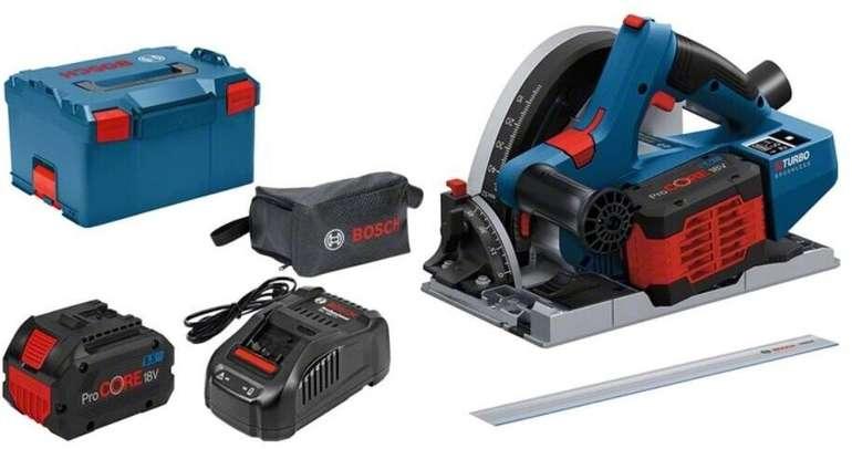 Bosch Professional GKT 18V-52 GC Akku-Tauchsäge inkl. 2x 5,5Ah Akkus für 488,90€ inkl. Versand (statt 562€)