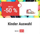 Kinder Sale mit bis zu 50% Rabatt bei Sarenza z.B. Cienta Margot für 18€
