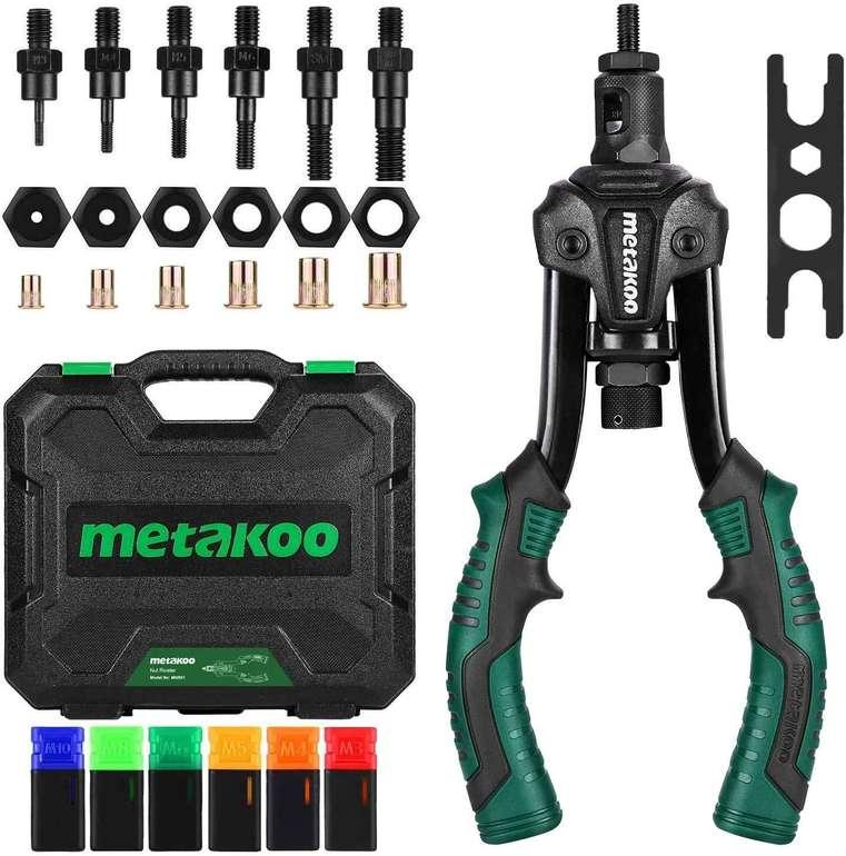Metakoo MNR01 Nietzange mit 7 Dornen & 70 Muttern für 39,99€ inkl. Versand (statt 56€)