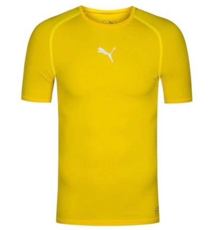 Puma TB Herren Kompressions Shirt bzw. Funktionsshirt für 9,50€ inkl. Versand (statt 16€) - nur in M & L!