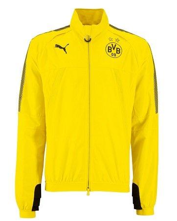 Puma BVB Borussia Dortmund Herren Stadionjacke International 17/18 für 24,99€