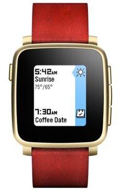 Pebble Time Steel Smartwatch für iOS & Android nur 94,90€ (statt 130€)