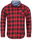 Brave Soul Jack Check Print Flannel Herren Karo Hemd für 5,55€ zzgl. Versand