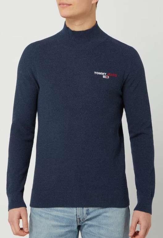 Tommy Jeans Pullover aus Bio-Baumwolle in Blau für 29,99€inkl. Versand (statt 50€)
