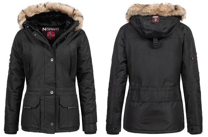 Geographical Norway Amadel Damen Winterjacke für nur 64,99€ (statt 90€)