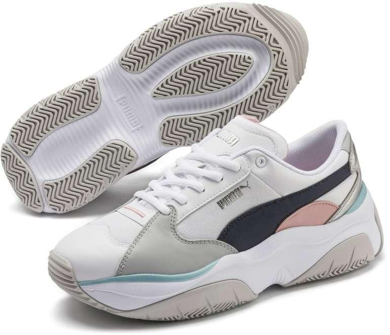 Puma Damen Sneaker Stormy Metallic für 35,99€ inkl. Versand (statt 53€)