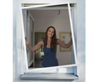 Schellenberg Telescope Alu Fenster Insektenschutz für 49,99€ (statt 64€)