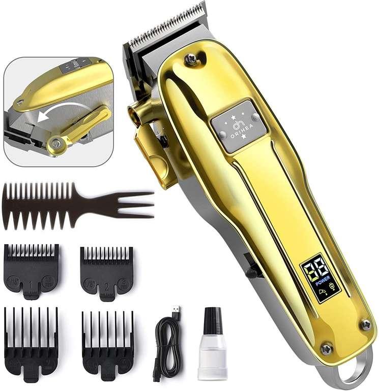 OriHea Haarschneidemaschine mit Trimmerfunktion und vers. Aufsätzen für 40,79€ inkl. Versand (statt 50€)