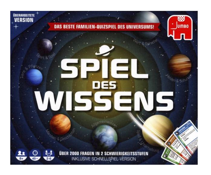 Jumbo 19498 Spiel des Wissen für 15,57€inkl. Versand (statt 28€) - Thalia Club!