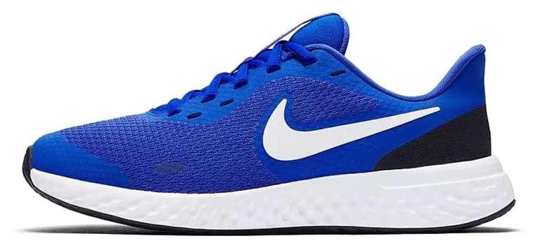 Nike Revolution 5 GS Kinder Sneaker in blau (Größe 36-40) für 22,61€ inkl. Versand (statt 28€)
