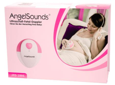 Angelsounds JPD-100S - Fetal Doppler (Baby Herzton Monitor) für 35€ inkl. VSK