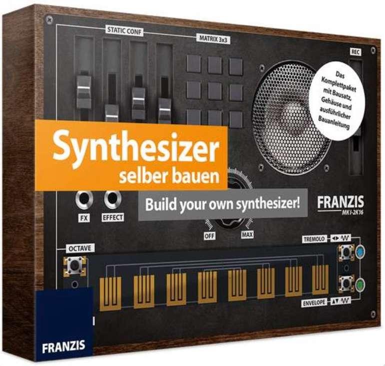 Franzis Synthesizer selber bauen (Komplettpaket mit Bausatz zum Basteln und Löten, ab 14 Jahren) für 11,95€