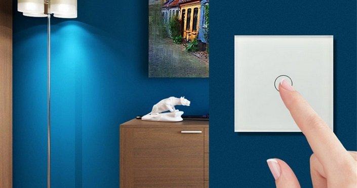 Hoar - Smart Home Wifi Wireless Lichtschalter für 13,99€ mit Prime